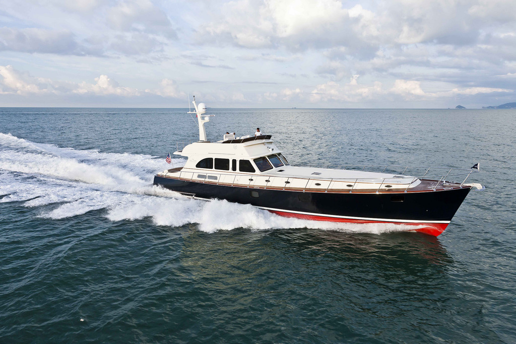 Vicem 80 Flybridge for sale - running