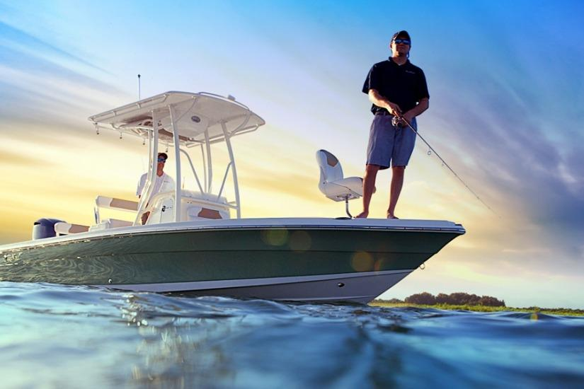 Edgewater 240IS for sale - anchored
