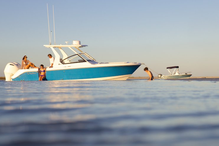 Edgewater 262CX for sale - anchored