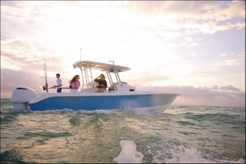 Edgewater 320CC for sale - anchored