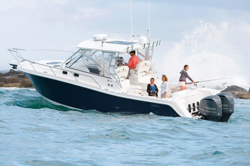 Edgewater 335EX for sale - running