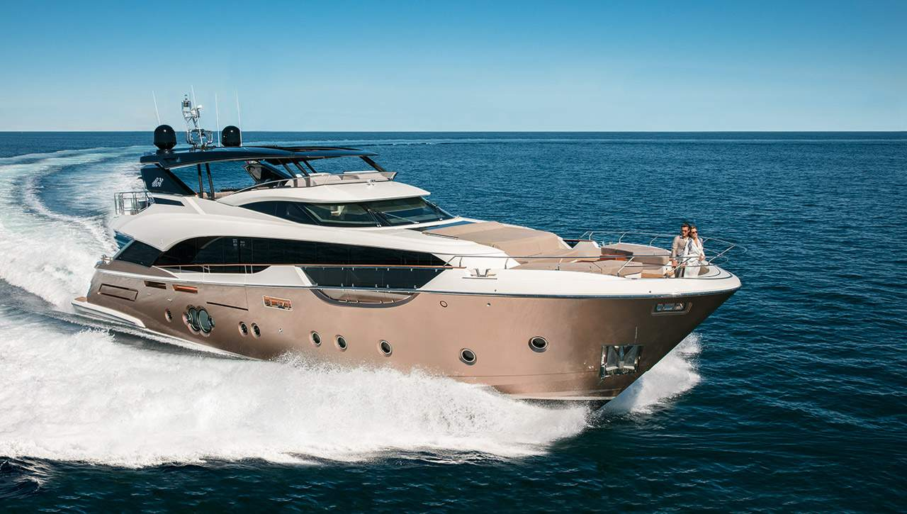 Used Monte Carlo Yachts for sale - luxury motor yachts, flybridge yachts for sale