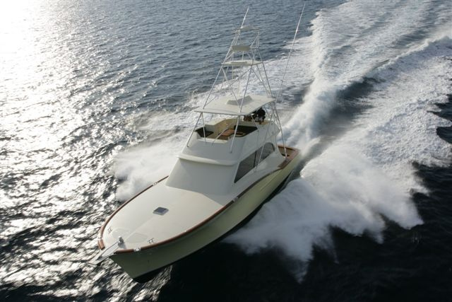 Vicem 63 Sportfish for sale - running 2