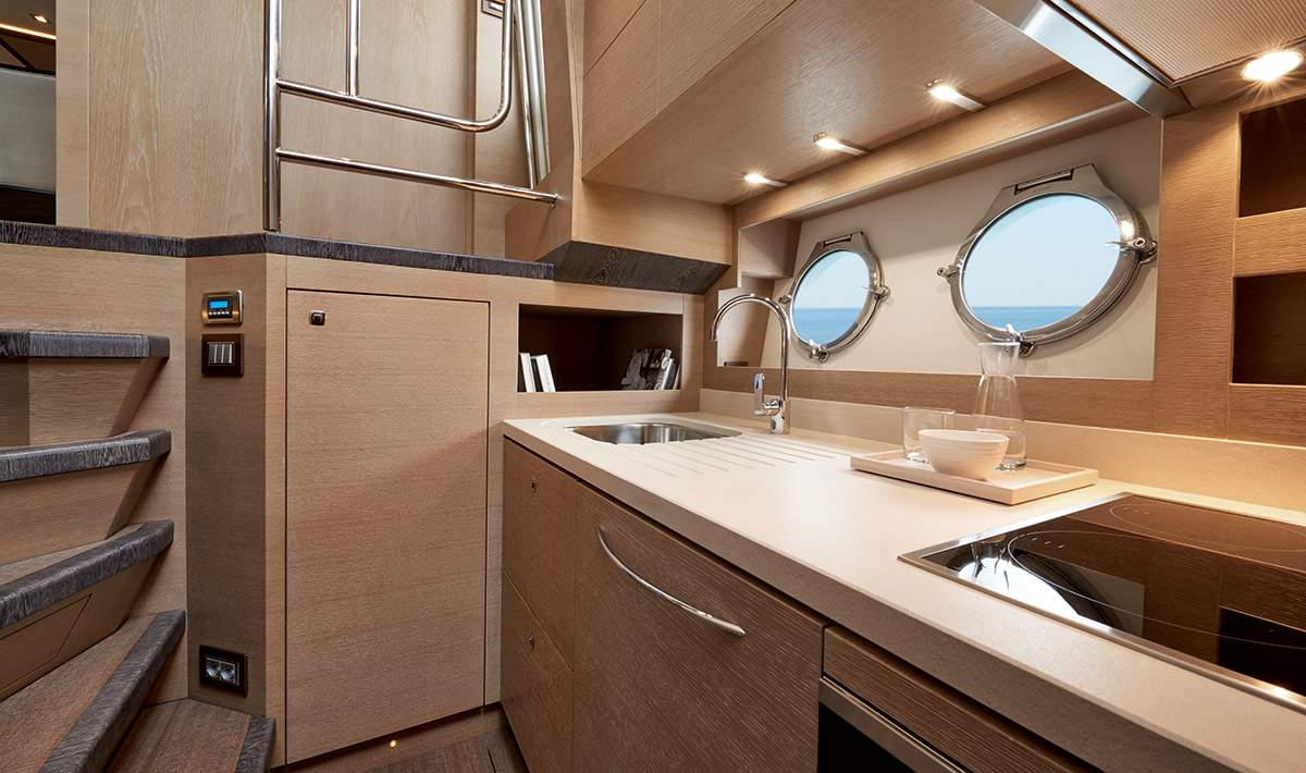 Monte Carlo MCY 80 yacht for sale - galley