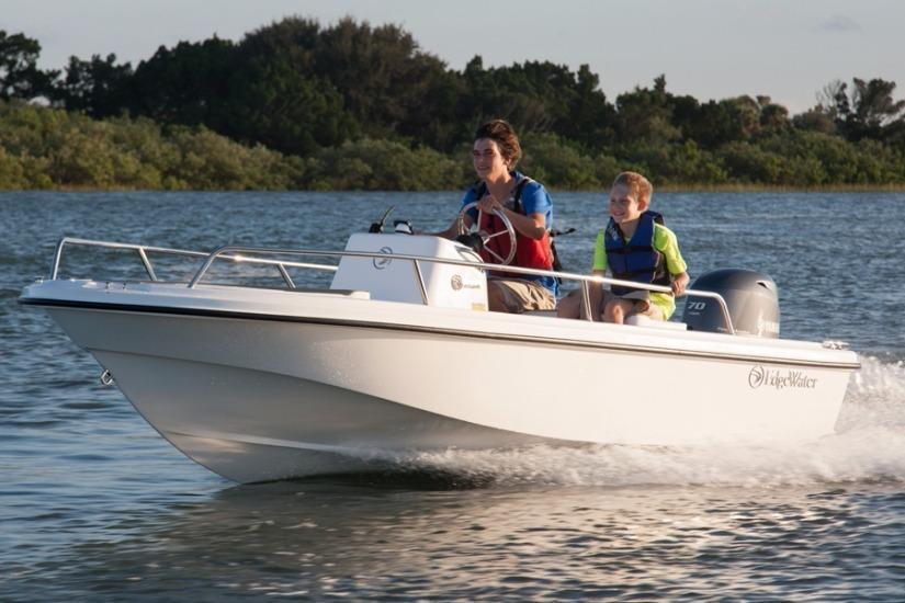 Edgewater 158CS for sale - running
