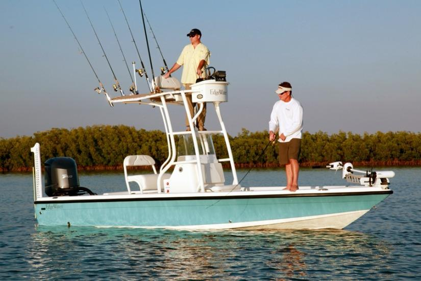 Edgewater 220IS for sale - anchored