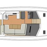 Riviera 445 SUV - Salon