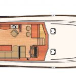 Vicem 64 classic flybridge - main deck