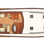 Vicem 71 Classic flybridge - main deck