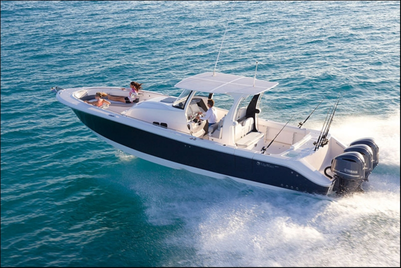 Edgewater 368CC for sale - running