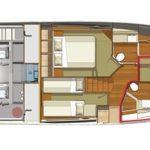Riviera 525 SUV - Fwd Stateroom