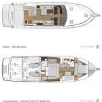 Riviera 575 SUV - Optional Layout