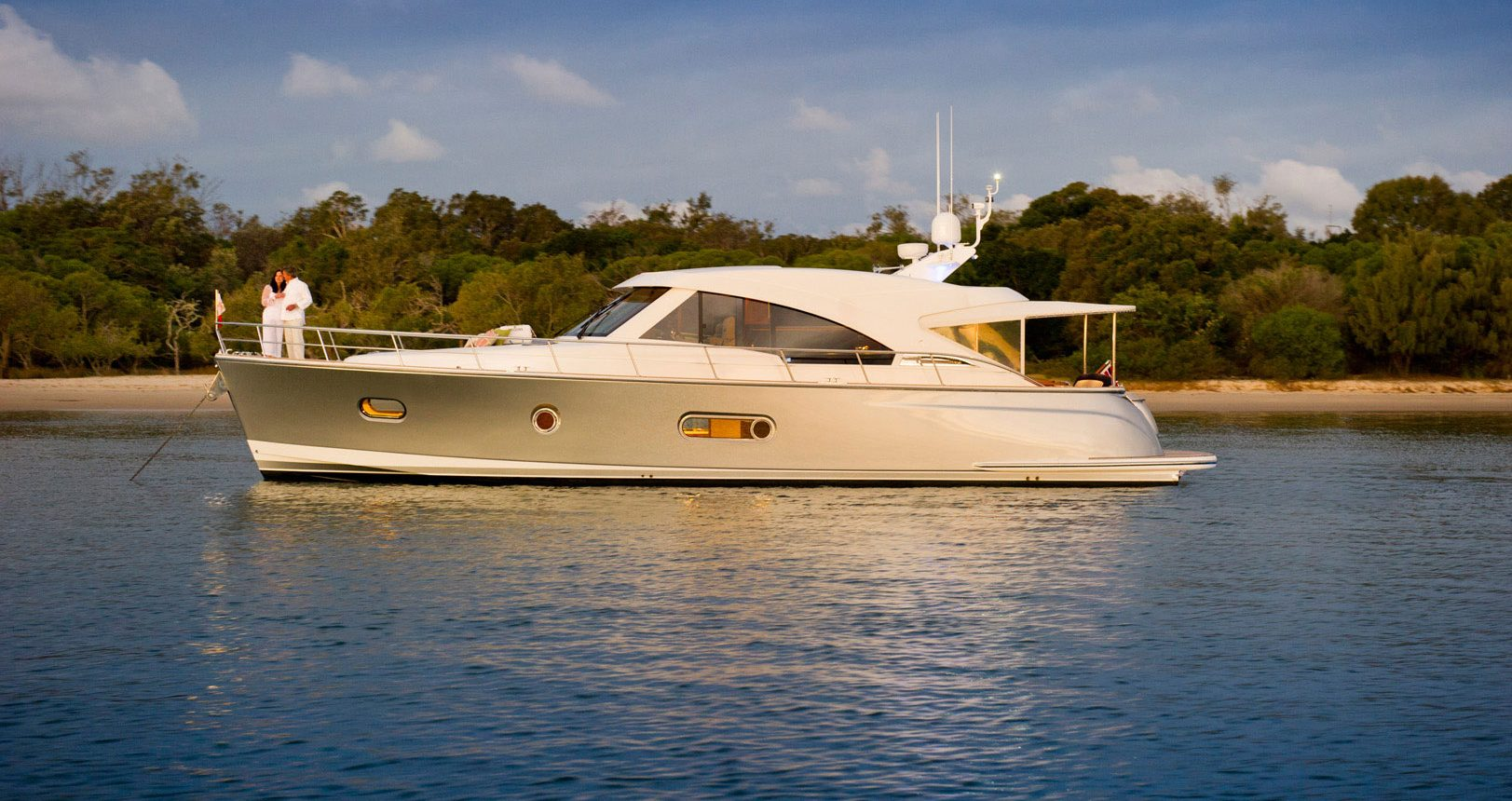 Belize 54 Sedan for sale - anchored