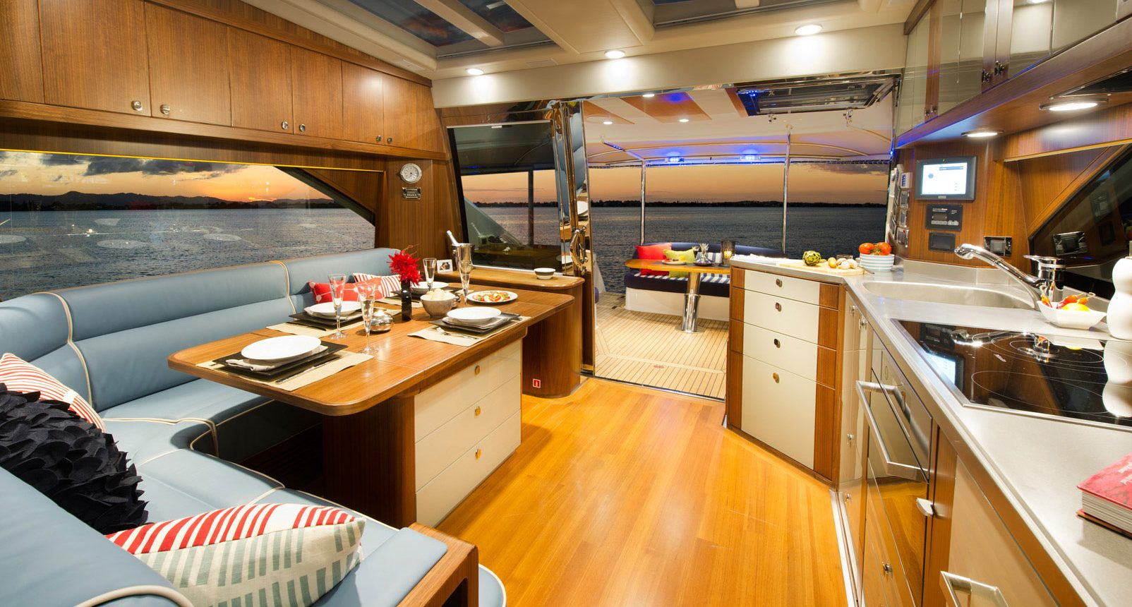 Belize 54 Sedan for sale - galley