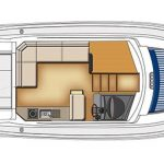 Riviera 3600 Sport Yacht - Salon