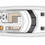Riviera 45 Open Flybridge - Flybridge Level