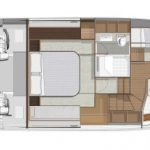 Riviera 5400 Sport Yacht - Guest Cabin