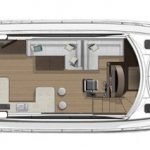 Riviera 5400 Sport Yacht - Salon