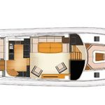 Riviera 77 Enclosed Flybridge - layout