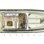 Minorca Islander 42 for sale - layout of galley option