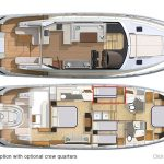Riviera 6000 Sport Yacht - Optional Layout