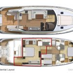 Riviera 6000 Sport Yacht - Presidential Layout