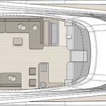 Monte Carlo MCY 96 yacht for sale - layout flybridge level