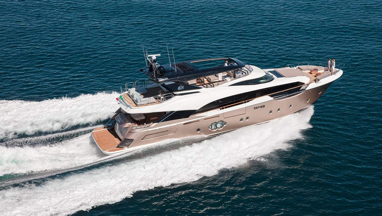 Monte Carlo MCY 96 yacht for sale - running
