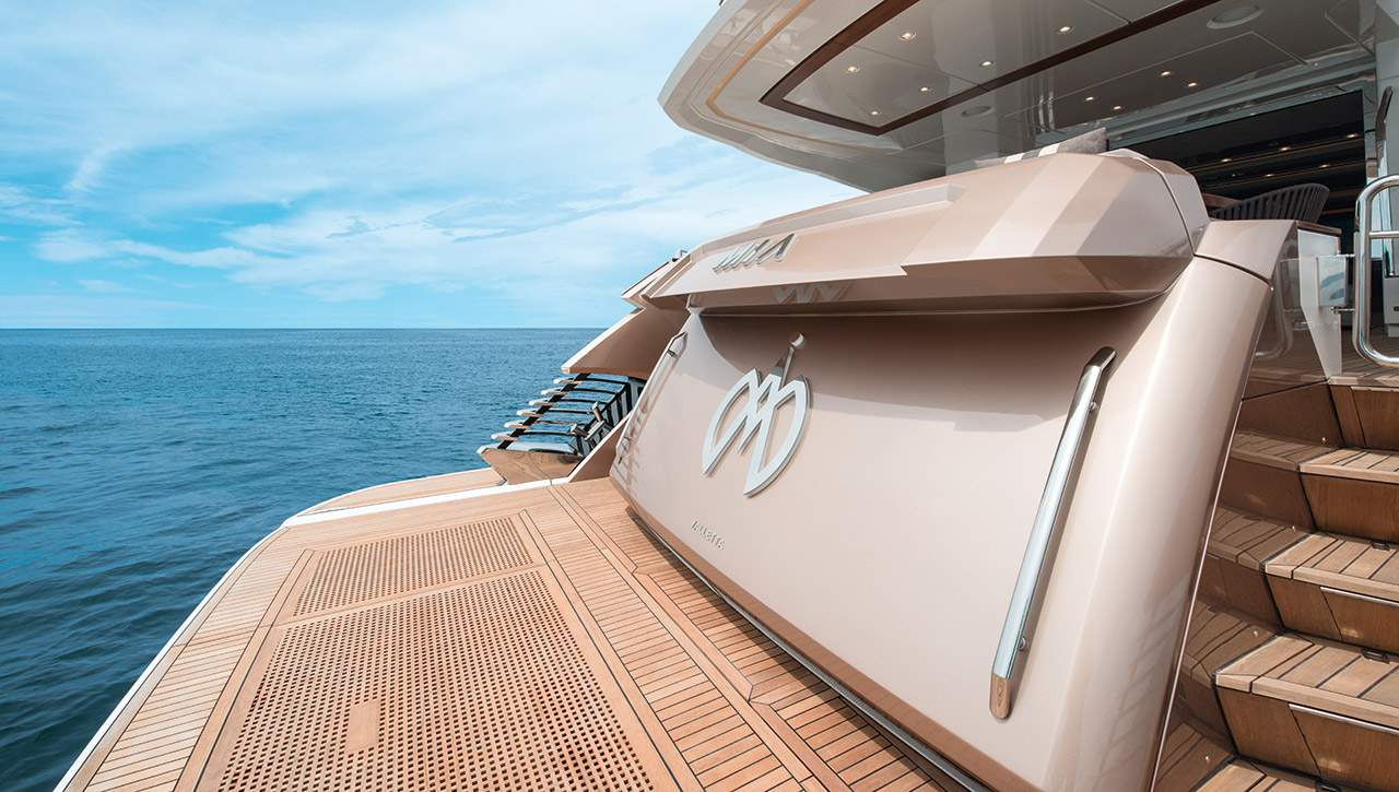 Monte Carlo MCY 96 yacht for sale - Transom