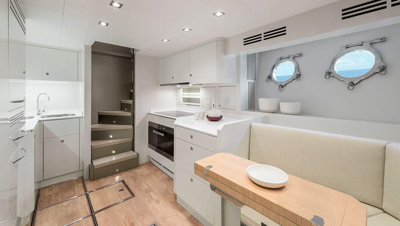 Monte Carlo MCY 96 yacht for sale - galley