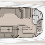 Monte Carlo Yachts MCY 86 for Sale - Flybridge Layout