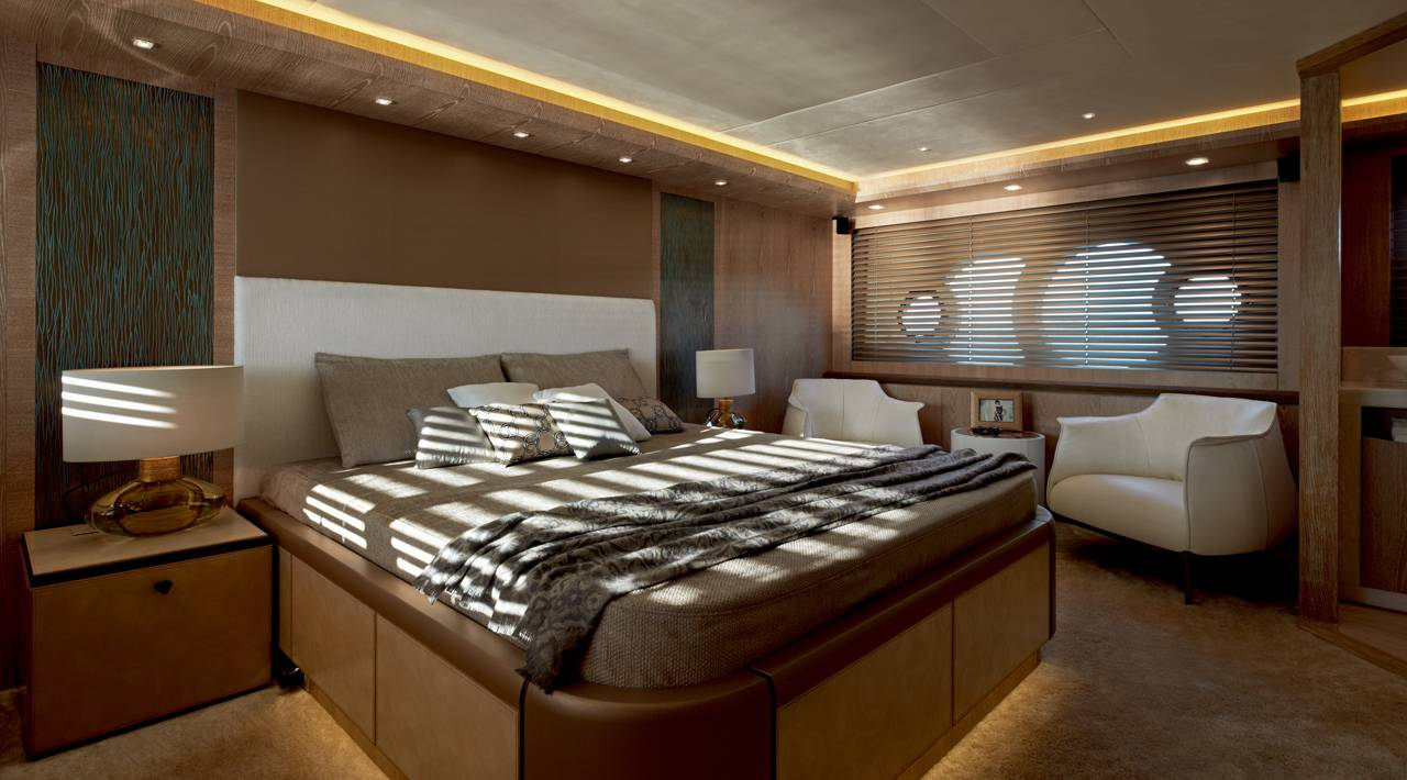 Monte Carlo Yacht MCY 86 for sale - Master Stateroom
