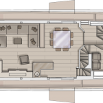 Monte Carlo Yachts MCY 86 for Sale - Main Deck Layout