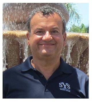 Charles Giambalvo yacht broker SYS Yacht Sales