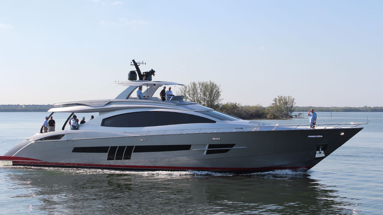 Search used Lazzara Yachts for sale worldwide, including Lazzara Motor Yacht, LSX, Skylounge models and more!