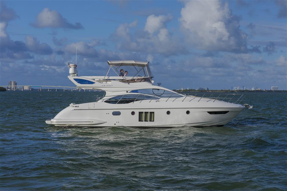 Search used motor yachts for sale from 40 to 50 feet, including a range of Flybrige yachts, Pilothouse Yachts, Trawlers, Sportfish, Express, Sport Cruisers, and much more