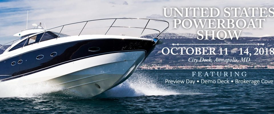 2018 Annapolis Boat Show - SYS Yacht Sales