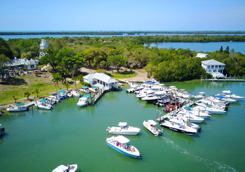 Boating destinations in Southwest Florida - Cabbage Key