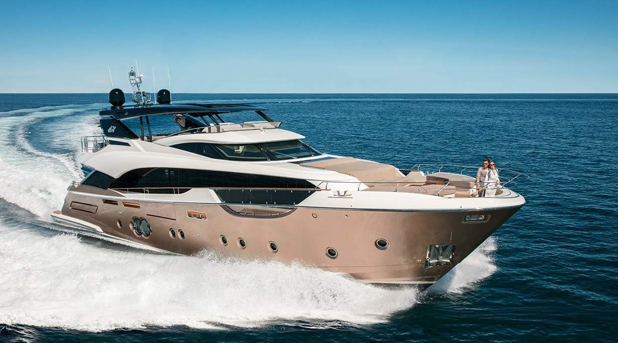 MCY 96 at the 2018 Monaco Yacht Show