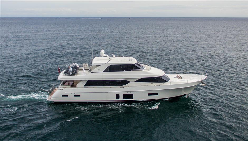 Used Yachts For Sale From 81 To 90 Feet Sys Yacht Sales