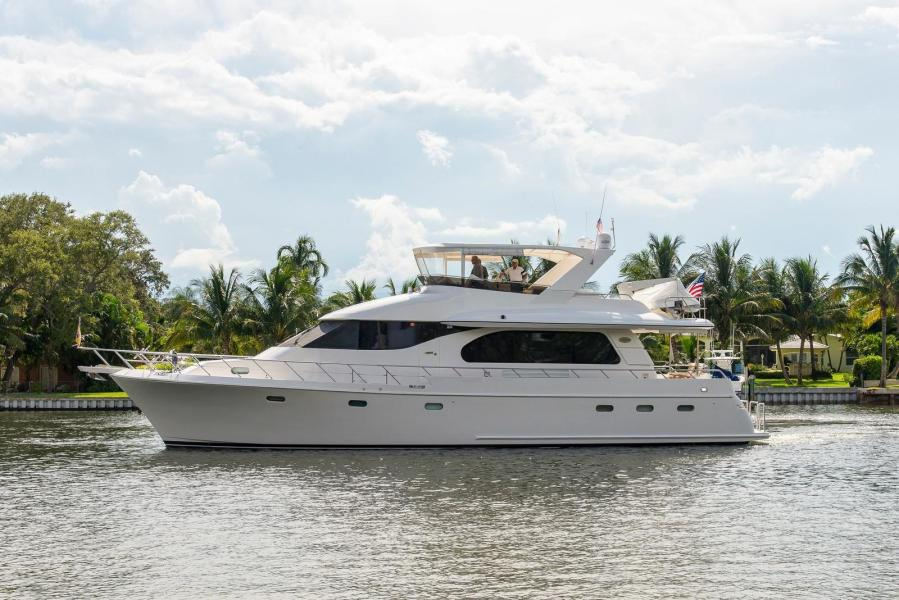 2004 66 Symbol Flush deck pilothouse MY - sold