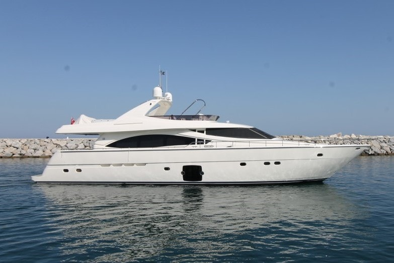 2007 Ferretti 830 Motoryacht for Sale