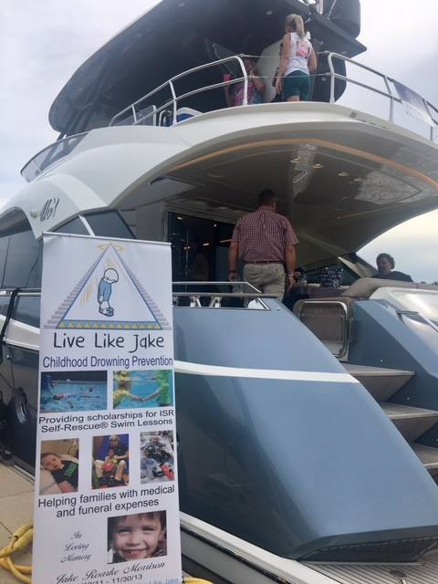 SYS Yacht Sales was honored to host the Live Like Jake foundation fundraiser in Jupiter, Florida