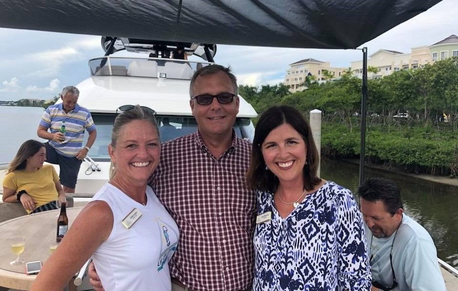 Live Like Jake foundation fundraiser aboard MCY 70