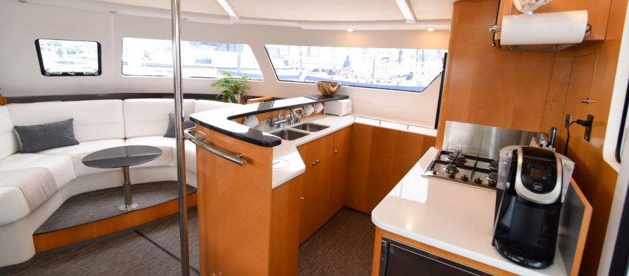 2006 Fountaine Pajot 60 Eleuthera galley