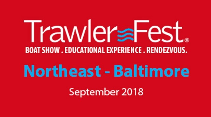2018 Trawlerfest Baltimore boat show