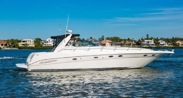 2000 46' Sea Ray 460DA at the Suncoast Boat Show