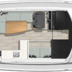 Riviera 395 SUV - Salon layout