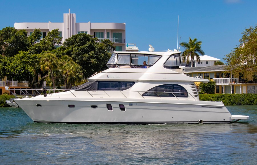 2007 54' Carver Voyager 52 for sale