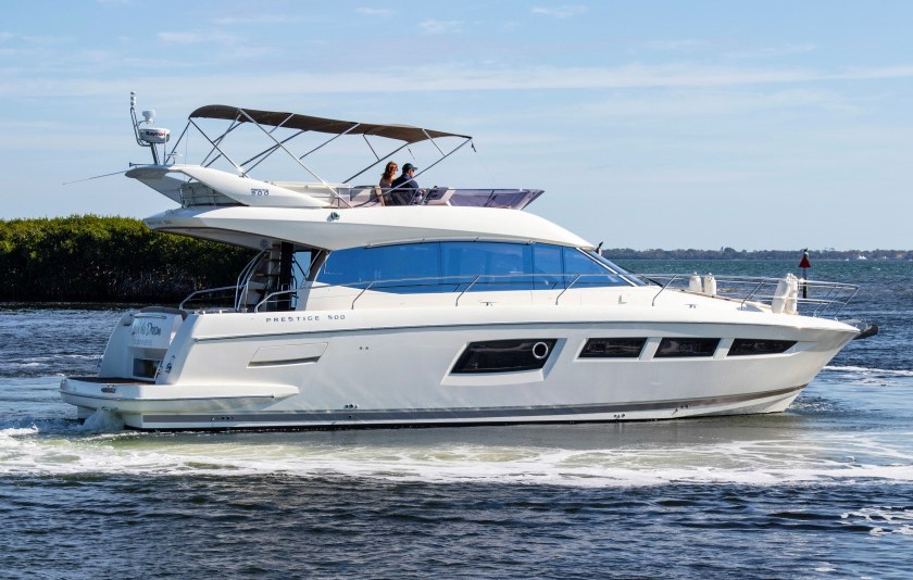 2014 50' Prestige flybridge for sale